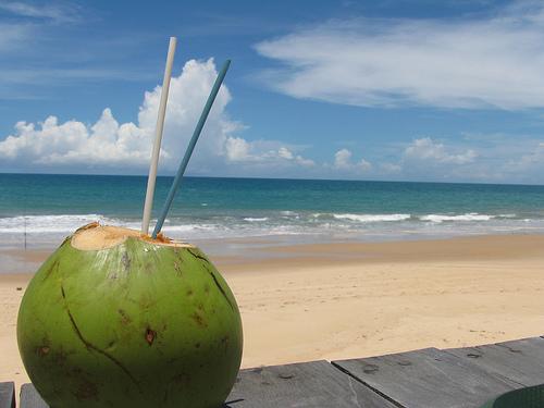 Os benefícios da água de coco